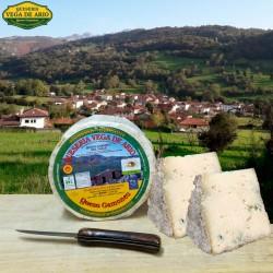 Cuña de queso Gamoneu del valle  350 gramos