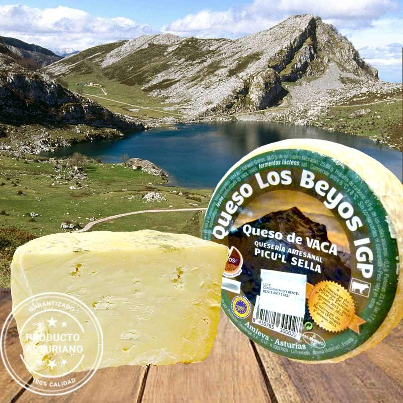 Queso Los Beyos Picu´l Sella - 450 gramos