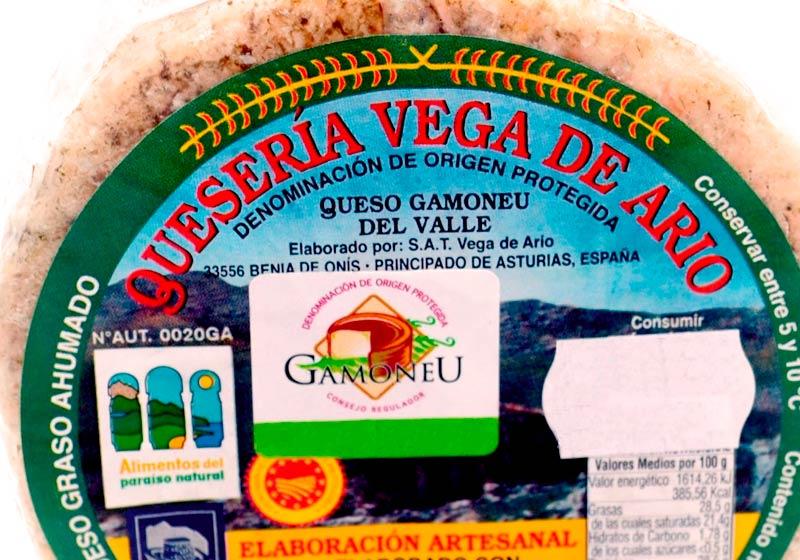 Queso de la DOP Gamoneu - Vega de Ario